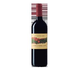Vino Rosso LACRIMA di Morro d'Alba della Cantina CESARONI di Poggio San Marcello ANCONA