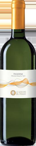 vino bianco Passerina Ancona linea Le Giocche - Cesaroni vini