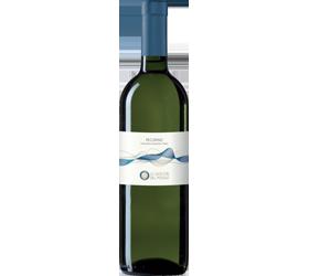 """Vino bianco Pecorino """"Le Giocche"""" Terre di Chieti, Abruzzo, Cesaroni."""